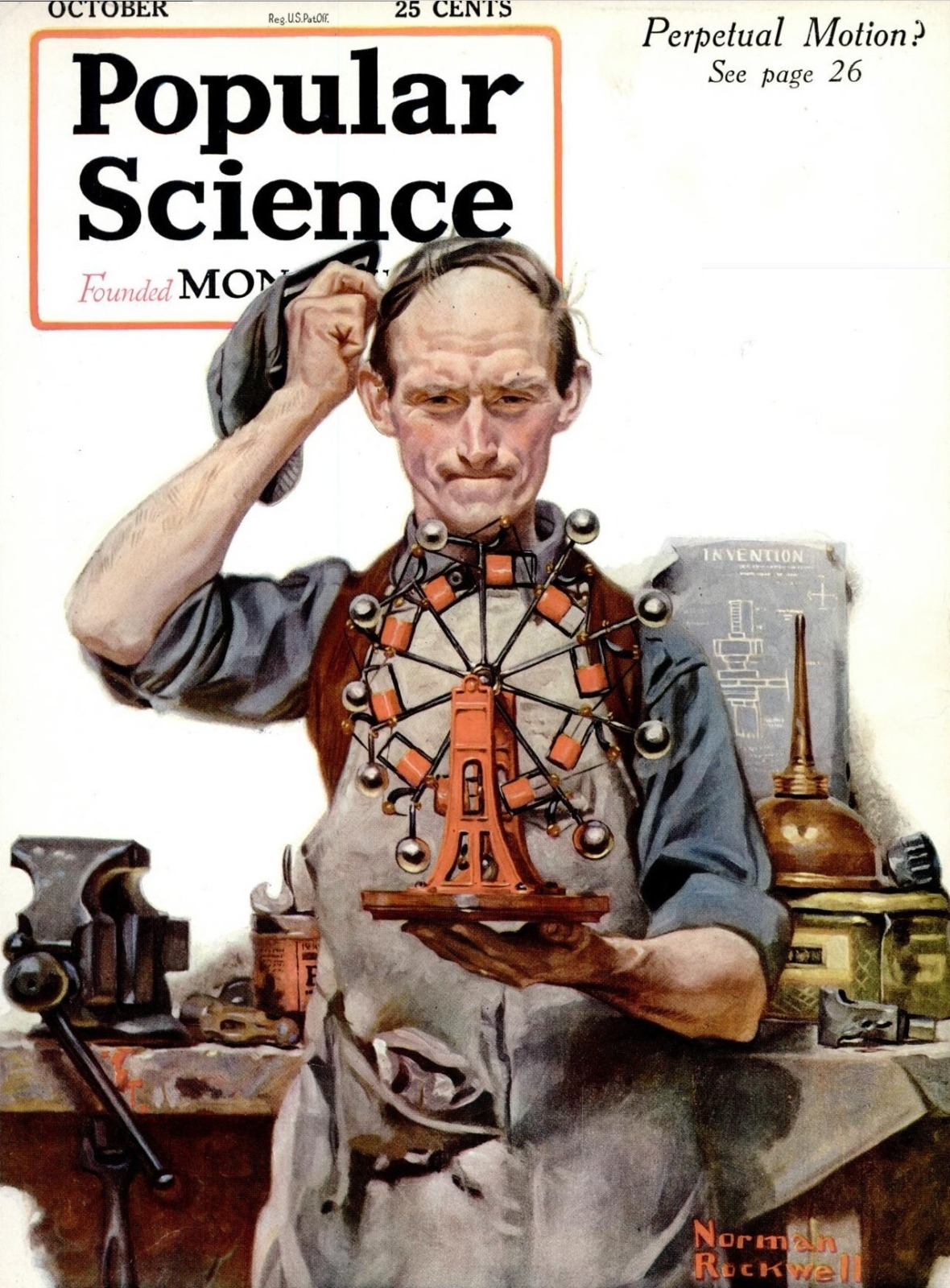Perpetual Motion by Norman Rockwell [Public Domain]