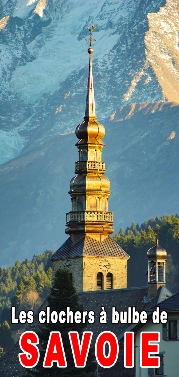Onion dome steeples of Savoy for Pinterest © French Moments