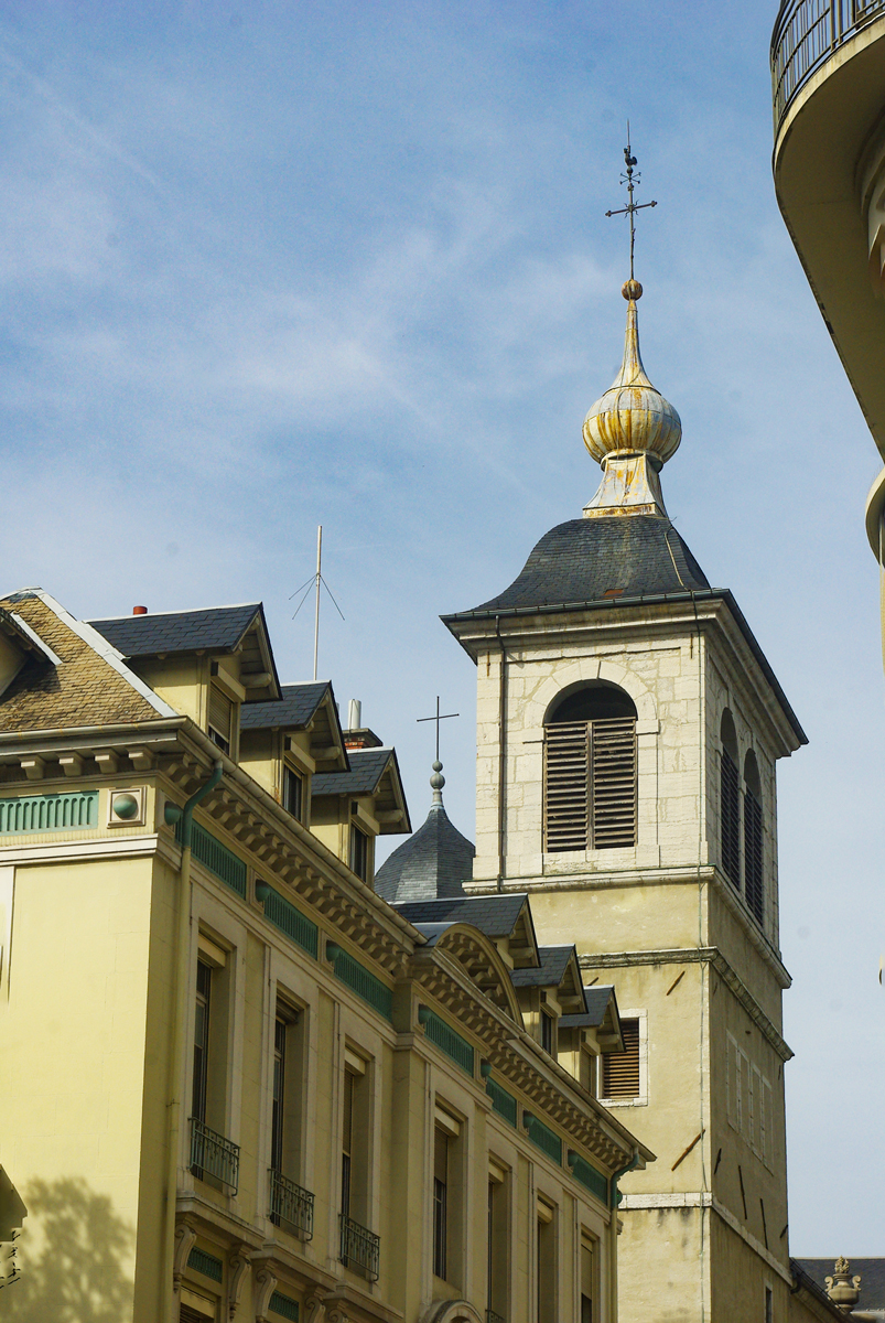 Onion dome steeples of Savoy - Chambéry © French Moments