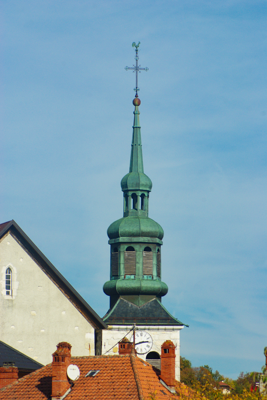 Onion dome steeples of Savoy - Cruseilles © French Moments