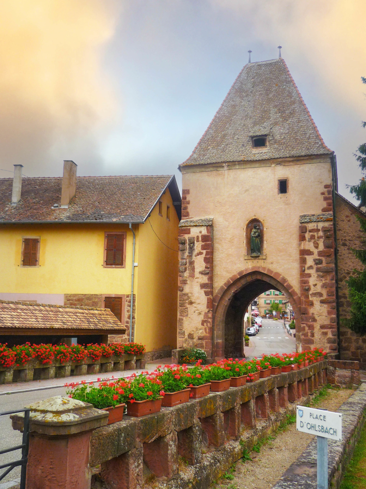 Fortified City Gates of Alsace - Tour Basse, Bœrsch © French Moments
