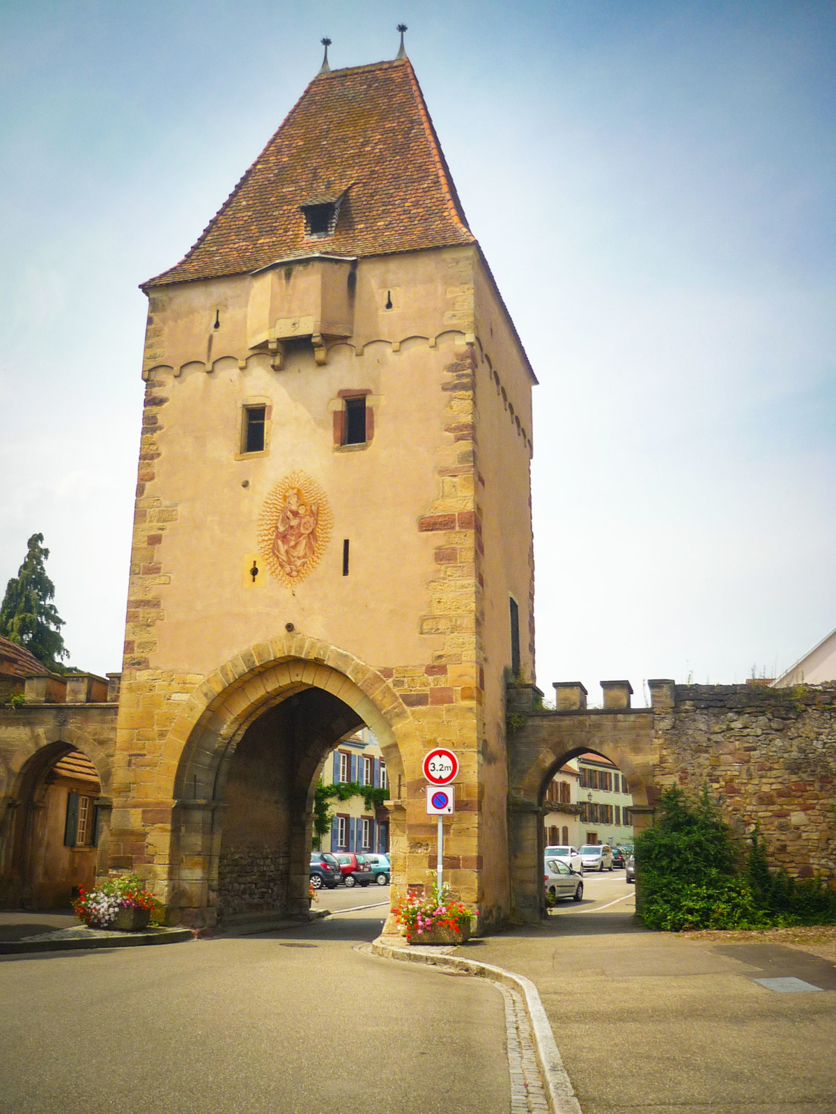 Fortified City Gates of Alsace - Niedertor, Rosheim © French Moments