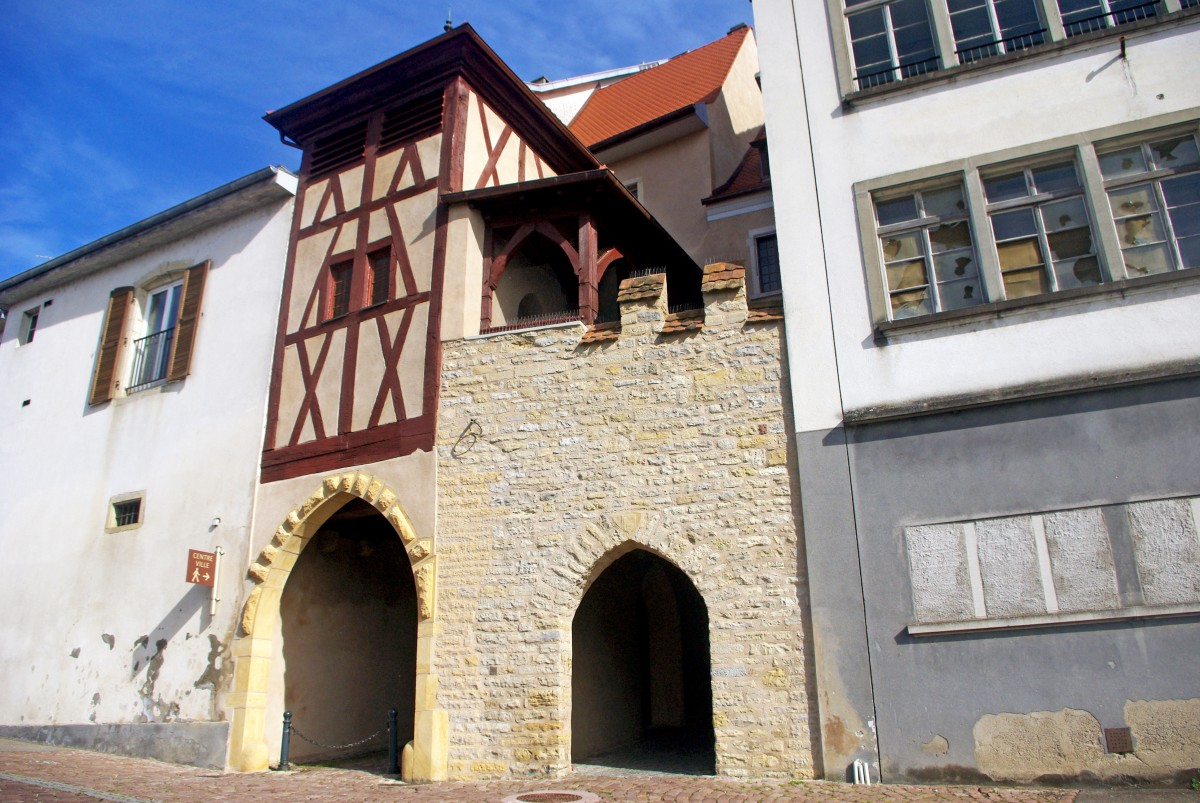 Fortified City Gates of Alsace - Vieille Porte, Altkirch © French Moments