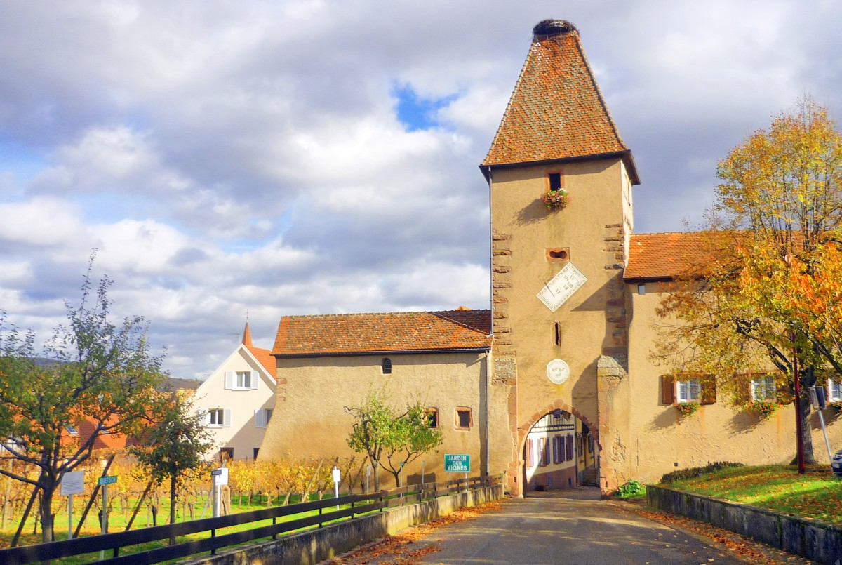Fortified City Gates of Alsace - Obertor, Ammerschwihr © French Moments
