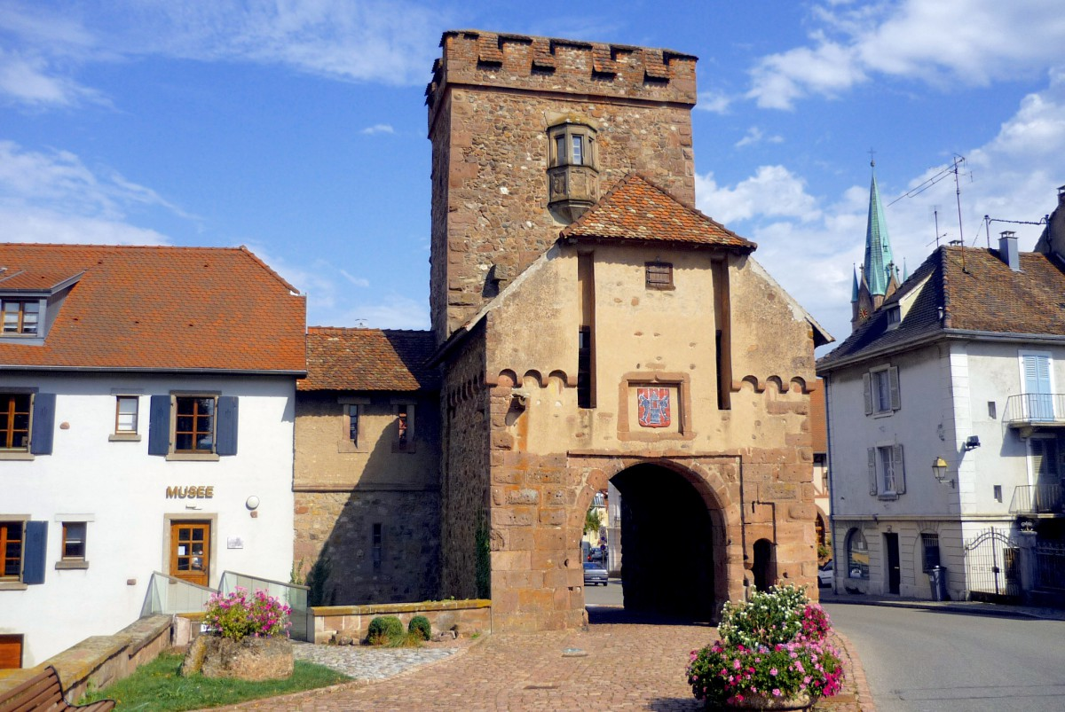 Fortified City Gates of Alsace - Porte de Thann, Cernay © French Moments
