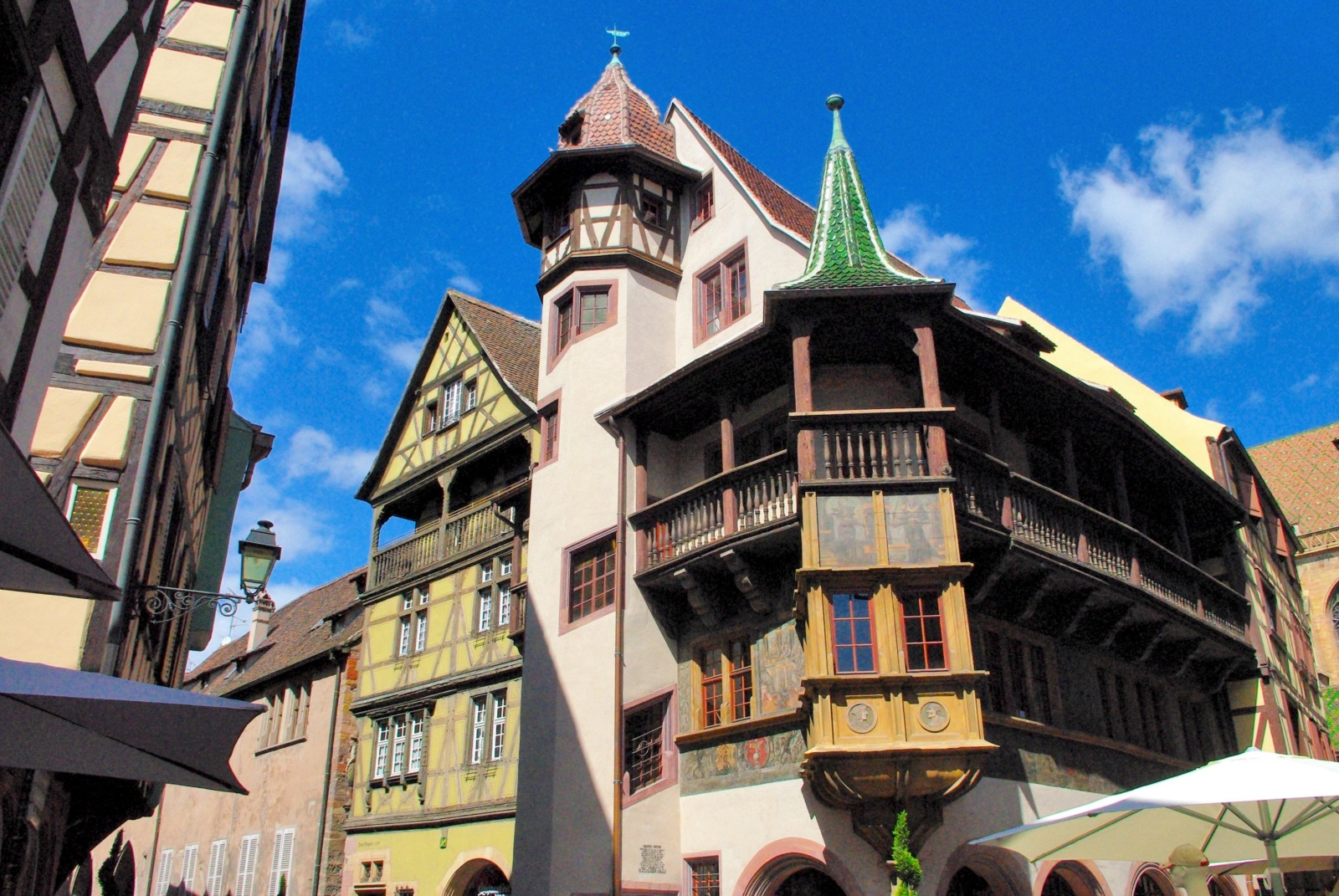 One of the most beautiful Renaissance houses in Alsace: the Pfister House © French Moments