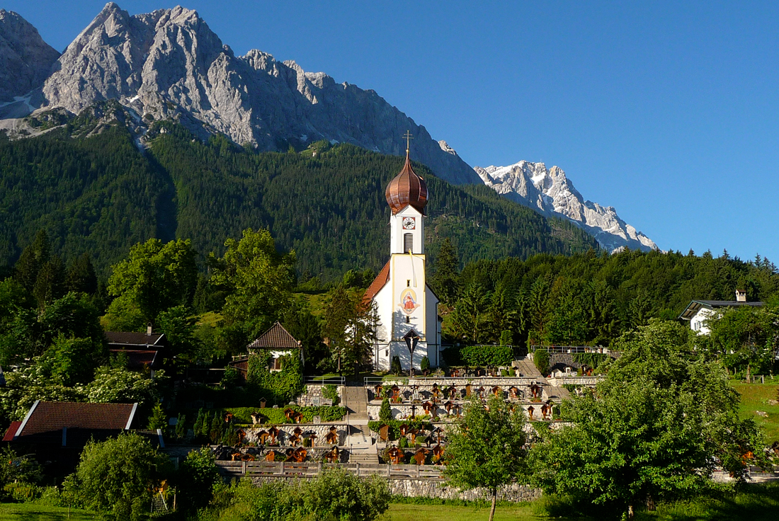 Grainau Bavaria © Octagon - licence [CC BY 3.0] from Wikimedia Commons