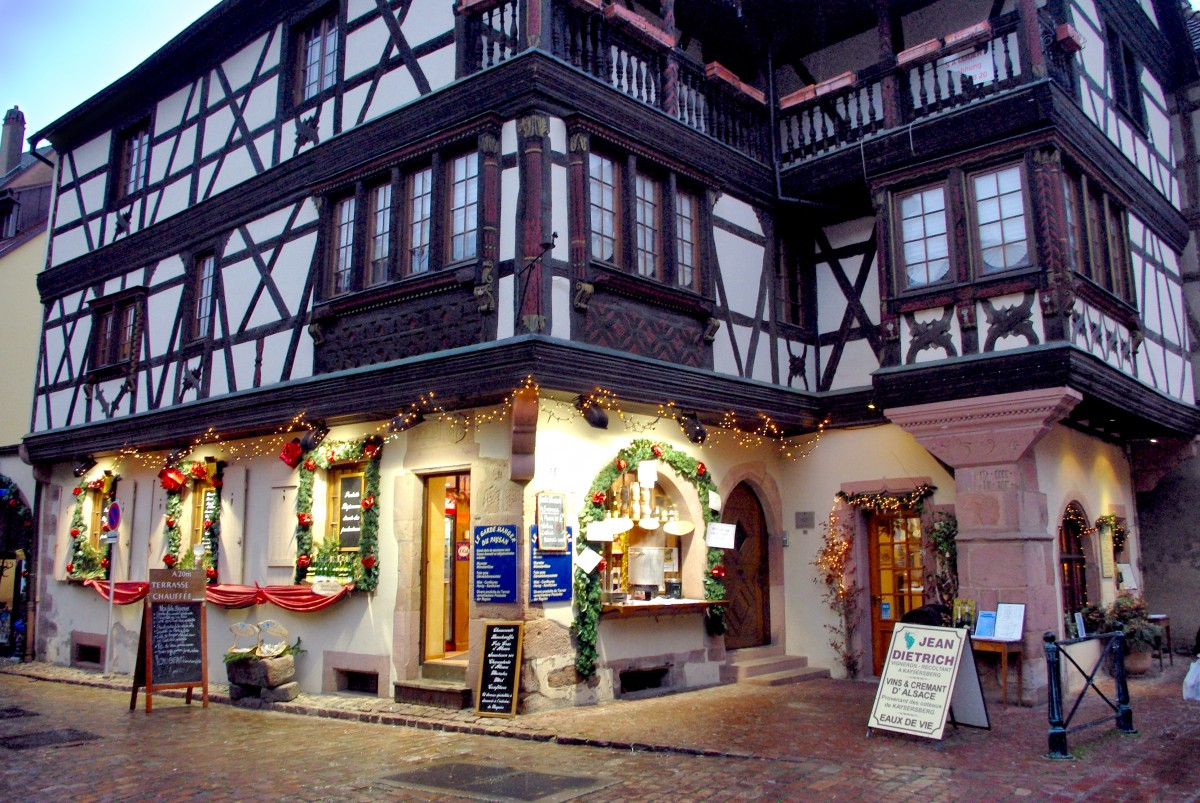 The ground floor of the Maison Faller-Brief, Kaysersberg © French Moments
