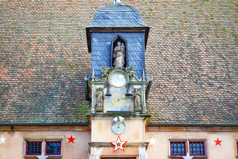 The Jacquemarts clock of the Metzig in Molsheim © French Moments