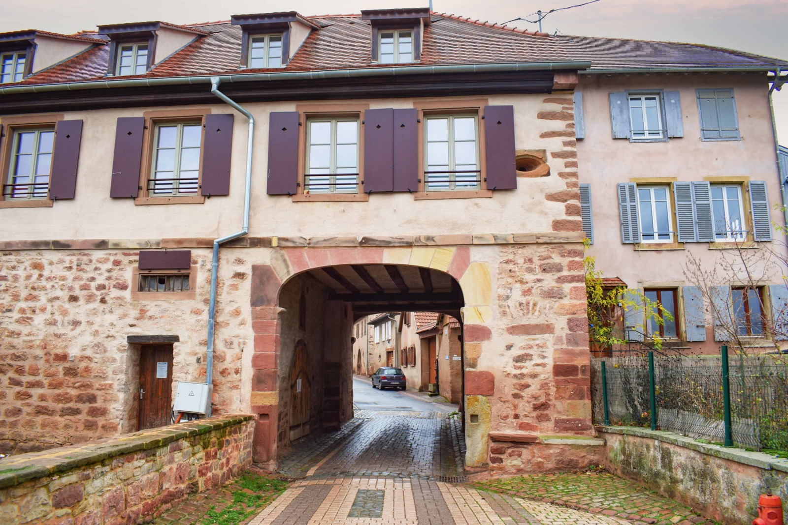 Fortified City Gates of Alsace - Porte du Sud, Wangen © French Moments