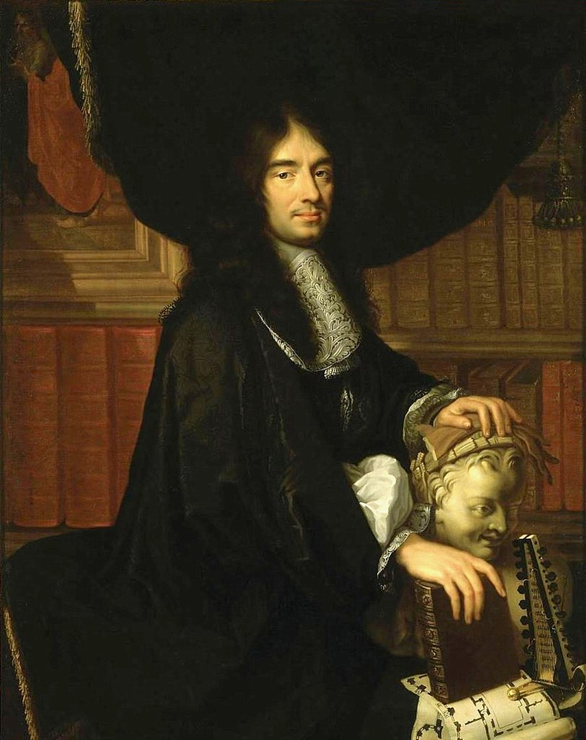 Charles Perrault by Philippe Lallemand in 1671