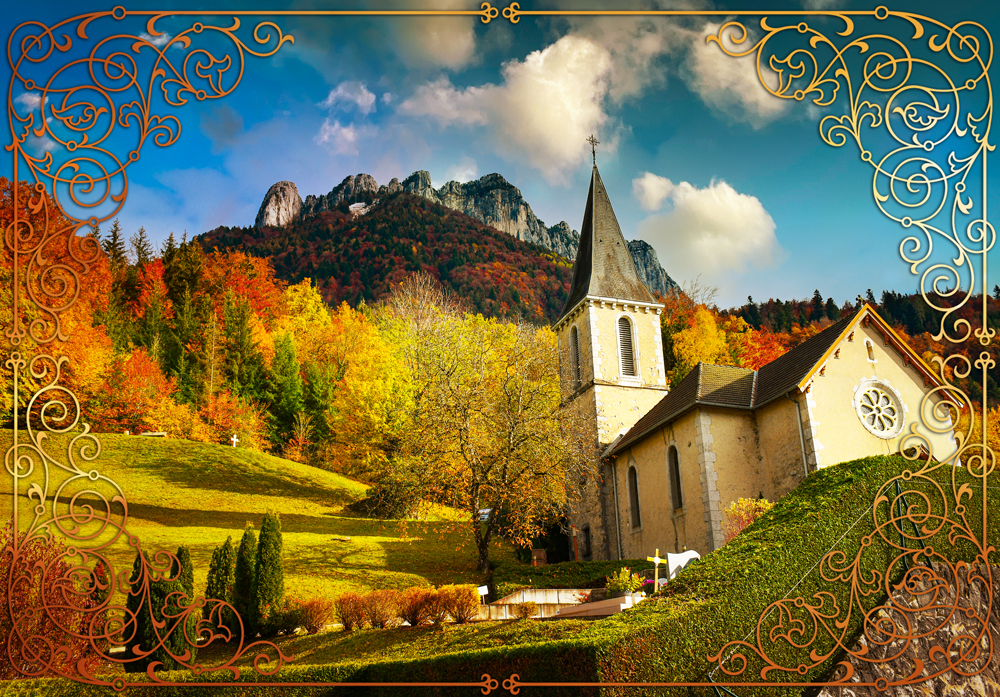 Fairy tale destinations in France - the village of Bluffy near Annecy © French Moments