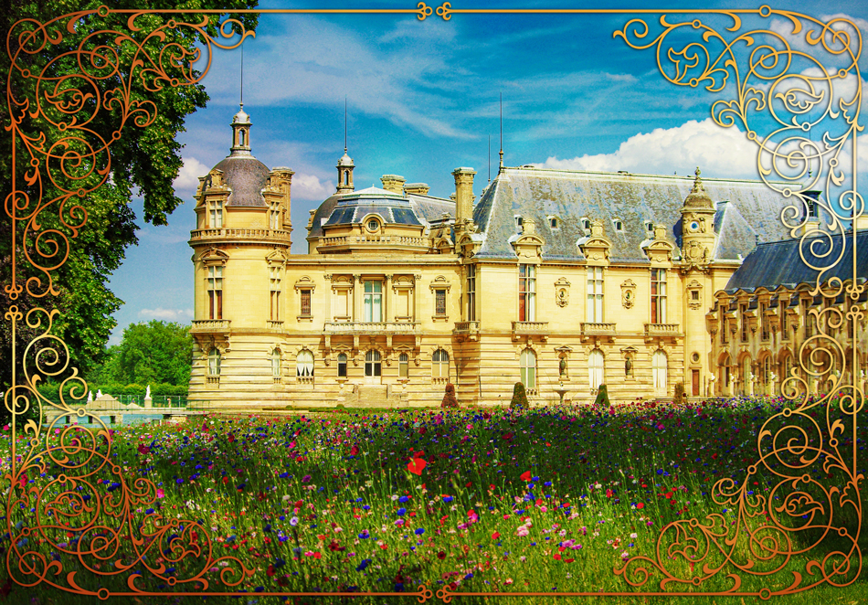 Fairy tale destinations in France - Chantilly © French Moments