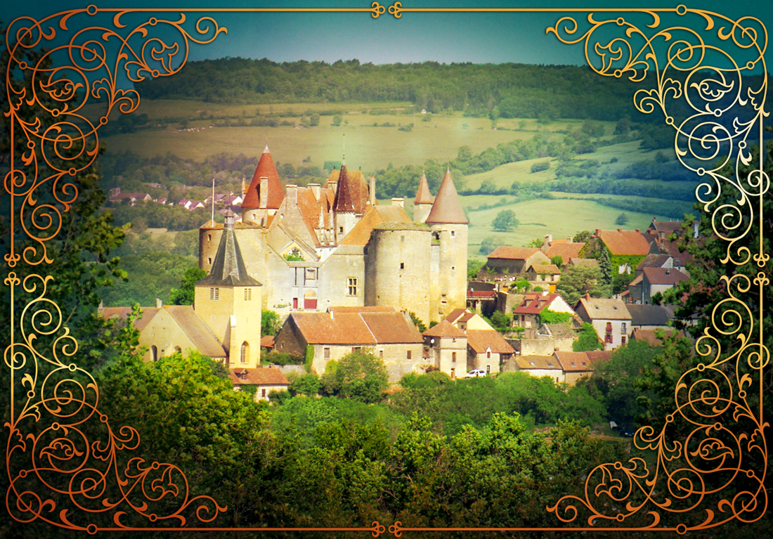 Fairy tale destinations in France - Châteauneuf-en-Auxois © French Moments
