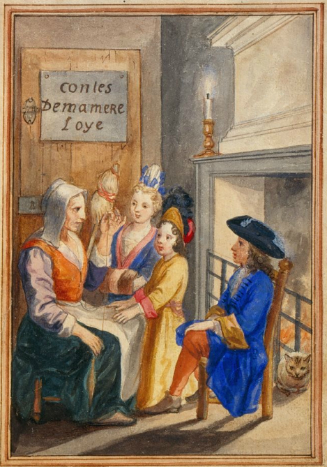 Fairy tales destinations in France - Contes de Ma Mère l'Oye by Perrault - 1695